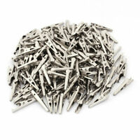 200 Pcs Non-Insulated Electric Test Alligator Clips Crocodile Clamps