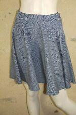 DDP Taille M - 38 Superbe jupe légère bleue à pois blancs skirt