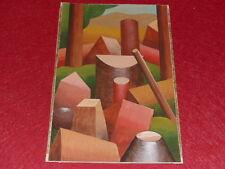 SUPERBE GOUACHE ORIGINALE ANCIENNE sur papier / ART XXe Cubism Malevitch F.Léger