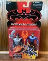 Battle Gear Bruce Wayne Vintage Batman & Robin Movie Figure New 1997 Kenner 90s