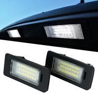 HID White LED Number License Plate Lights For BMW E90 M3 E92 E70 E39 F30 E60 2x
