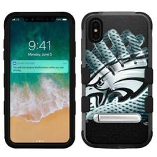 """for Apple iPhone Xs Max (6.5""""), Hard+Rubber Rugged Case Philadelphia Eagles #GL"""