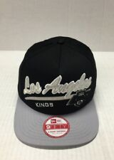 NEW ERA 950 NHL LOS ANGELES KINGS SNAP BACK BLACK / GREY