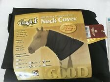 Tough-1 600D Waterproof Poly Black Turnout Blanket Neck Cover - XL Horse
