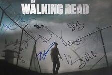 The Walking Dead Season 4 Cast Signed Photo