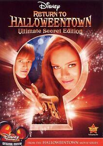 Return To Halloweentown - Ultimate Secret Edition (DVD) Region 1 Import Like New