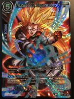 Carte Dragon Ball Super TRUNKS SS3, ESPACE ABSOLU BT4-101 SR DBZ FR NEUF