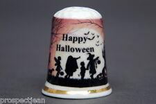 Happy Halloween Party China Thimble B/142