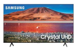 "Refurbished SAMSUNG 50"" Class 4K Crystal UHD (2160P) LED Smart TV with HDR UN50T"