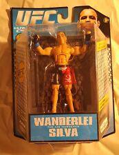 Wanderlei Silva Series 2 JAKKS Pacific UFC MMA 3'' Figure Build the Octagon New!