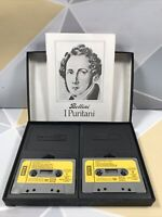 "Bellini I Puritani Cassette Tape Box Set ""Royal Opera House * Decca"