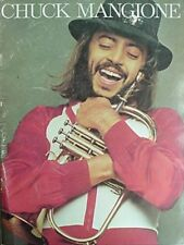 1980 Chuck Mangione Concert Book *Signed By Papa Mangione*  00004000