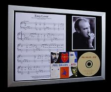 PHIL COLLINS Easy Lover GALLERY QUALITY CD FRAMED DISPLAY-EXPRESS GLOBAL SHIP!