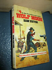WOLF MOON by Sam Victory (1975) vintage paperback FREE SHIPPING