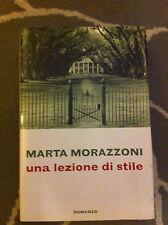 MARTA MORAZZONI-UNA LEZIONE DI STILE-2002
