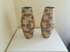 Stainless Steel Table Vases Set