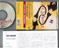FRED SCHNEIDER s/t THE B-52's JAPAN CD w/OBI+INSERT WPCP-4396 Free S&H/P&P