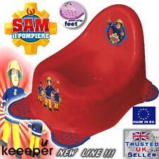 FIREMAN SAM Childrens Baby Steady Potty Toilet training New Keeper