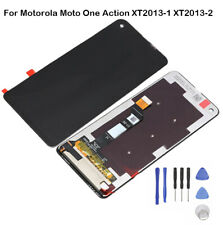 For Motorola Moto One Action XT2013-1 -2 LCD Display Touch Screen Digitizer Full
