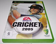 Cricket 2005 XBOX PAL *Complete* Free Post