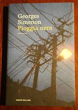 LIBRO I grandi romanzi di Georges Simenon n° 30 - Pioggia nera (G. Simenon)