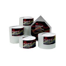3M™ Scotchlite™ Reflective Striping Tape 79901, White(Silver), 1/4 in x 50 ft