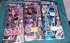 2012 Monster High Lot Of 3 Dolls Abbey Bominable, Robecca Steam, & Operetta
