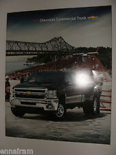 2011 Chevrolet Commercial Truck Dealers Advertising  Brochure Booklet