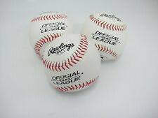 Rawlings Olb3 Lot of 3 Official Recreational League Baseballs 5 oz 9 inch New