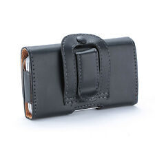 PU Leather Horizontal Belt Clip Case Holster Pouch Cases Covers for iPhone 4 4S
