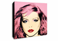 ANDY WARHOL - DEBBIE HARRY - Canvas Wall Art Framed Print - Various Sizes