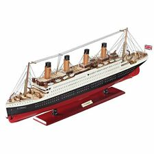 HM32020 - The Titanic Collectible Museum Replica -Detailed Hand Painted Wood!