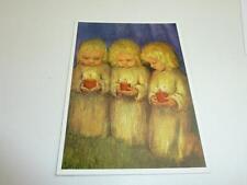"vintage blank 70` greeting cards  Spötl""angel while praying  ""1311"""