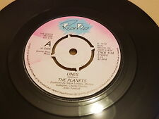 """The Planets, Lines, Further Down, Rialto – TREB 104, 1979, UK, Vinyl, 7"""",  EX+"""