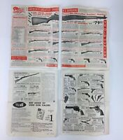 VTG 1960 Lot Of 4 SPORTS MAGAZINE Page GUN ADS Little Mauser Pistol Ye Old Hunte
