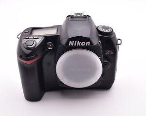 Nikon D70s 6.1 MP DX Digital Camera Body 214 Actuations Accessories (#8869)