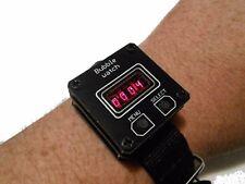 CUBE Segment Led wrist watch Armbanduhr montre bubble, retro, geek, vintage