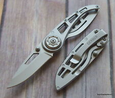 5.75 INCH OVERALL GERBER RIPSTOP I FRAME-LOCK FOLDING KNIFE WITH POCKET CLIP
