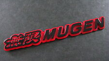 Mugen Badge RED BLACK CIVIC INTERGA S2000 TYPE R VTEC
