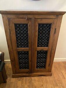 Indian Wood Hall Cupboard