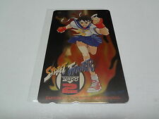 Street Fighter Zero 2 Famitsu Special Telecard Japan NEW