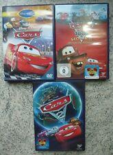 3x Kinder DVD Disney Pixar Cars Special Collection + Cars 2 + Cars Toon Hook