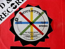 JIMMIE RODGERS~ GO DOWN MOSES~ COMPACT 33~ NEAR MINT~ I'M GONNA WALK~ COUNTRY 45