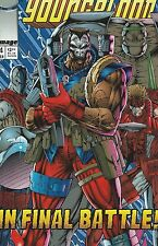Image Comics Title Youngblood Bloodshot in Final Battle July 1993 Number 4