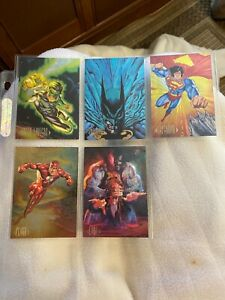 1994 Skybox DS1-5 complete 5 Card set MT condition