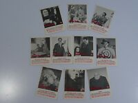 Vintage Lot of 10 x The Addams Family 1964 Trading Cards Donruss