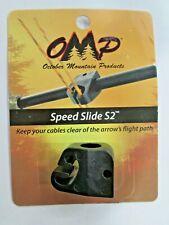 Omp October Mountain Speed Slide S2 black cable slide