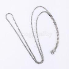 2015 New Super Cool Fashion Men's Titanium Steel Chain Necklace Jewelry Hot Sale