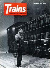 Trains Magazine December 1956 Trains Tripmaster & Barriger's Bible