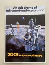 2001: A SPACE ODYSSEY, RARE 1990's ART PRINT